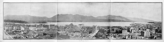 Vancouver 1900 Black and white